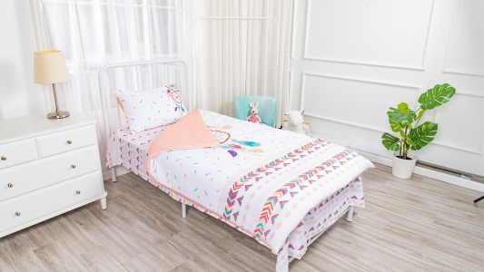 Dream catcher theme colorful children bedding 3 piece kids bedding set